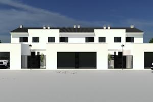 Venta de 4 viviendas unifamiliares en Montehermoso