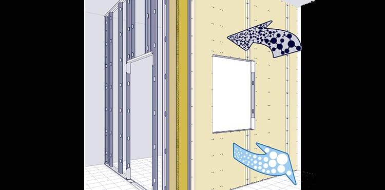 Muros tabiques y techos que purificaran el aire interior